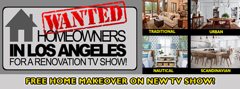 Homeowners Wanted - Get a FREE Home Makeover on New Home Renovation