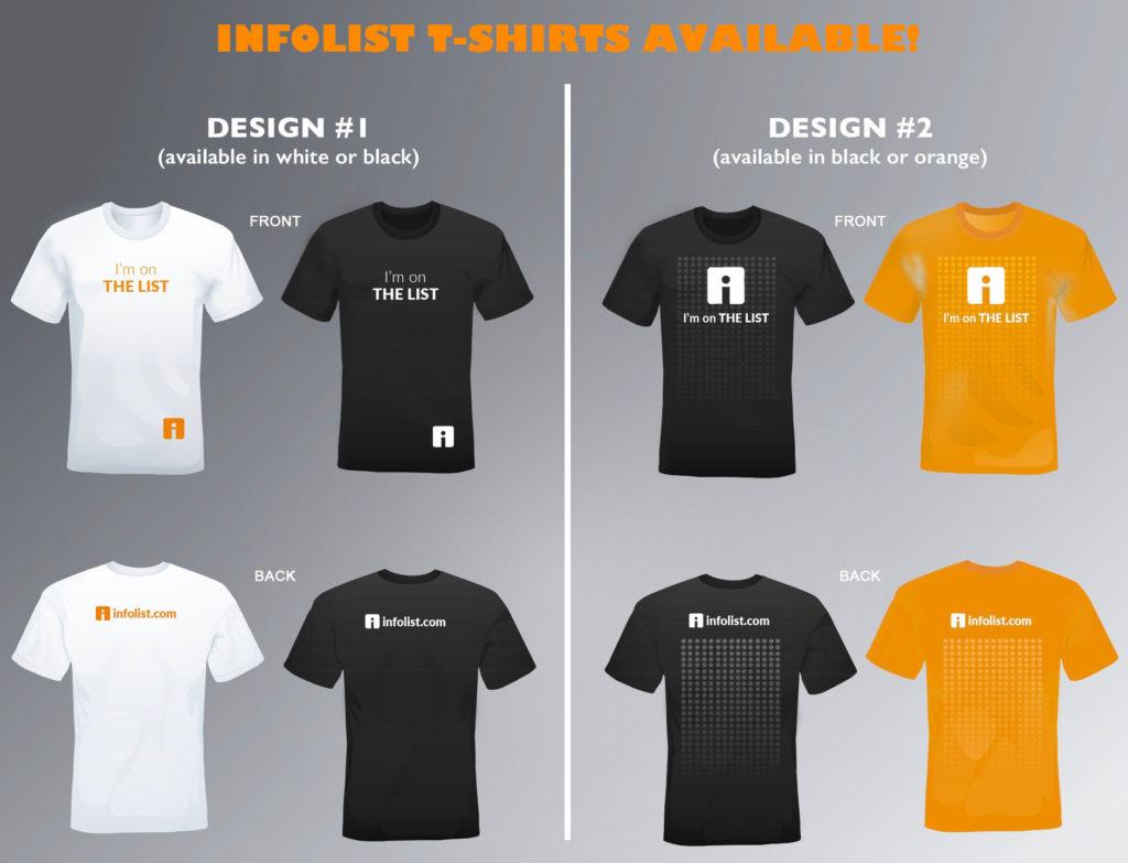 INFOLIST T-Shirts