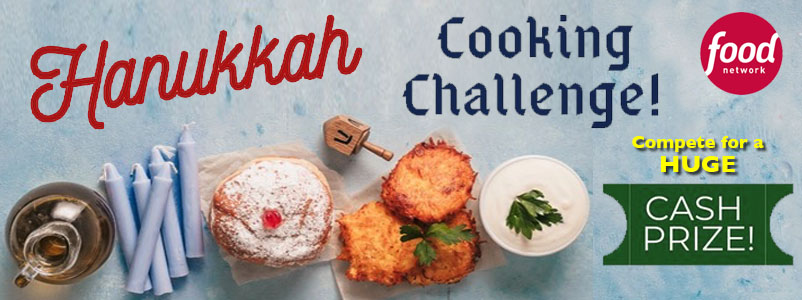 Chefs & Cooks Who Love Jewish Cuisine - Compete for Major Cash Prize